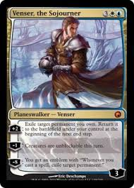Venser, the Sojourner // WOTC