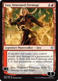 Jaya, Venerated Firemage // WOTC