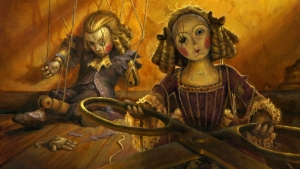 Artwork for the Magic: The Gathering card Creepy Doll.