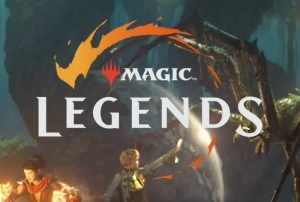 'Magic Legends' logo.