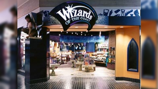 Wizards of the Coast game store in Kitsap Mall
