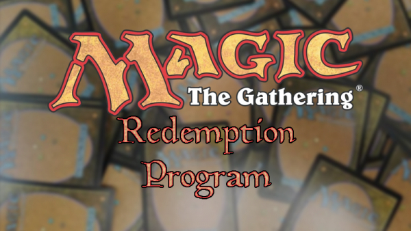 The Redemption Program: Magic's rarely used mass correction action