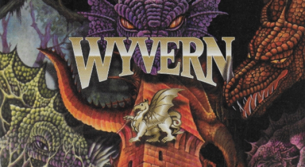 The Legend of the Wyvern backs: When Magic cards were accidentally misprinted in another game
