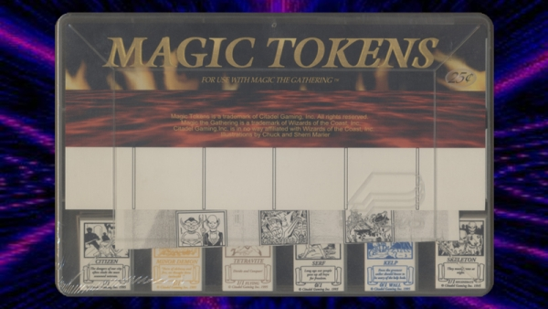 Citadel Gaming's Magic Tokens were available from 1995 until 1996.