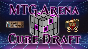 Cube drafting is now on MTG Arena.
