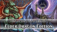 Before they were famous: Looking back at Magic: The Gathering's Elder Dragon Legends