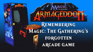 Remembering 'Magic: The Gathering - Armageddon': MTG's short-lived coin-op arcade game