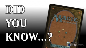 Did you know? Another 10 cool facts about Magic: The Gathering cards